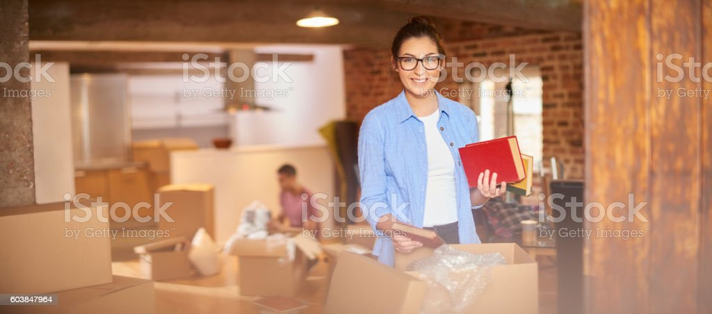 our new apartment stock photo