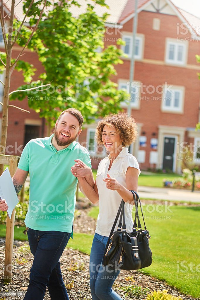 our new dream home stock photo
