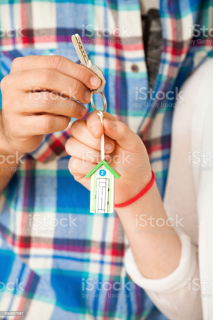 Our new Home stock photo