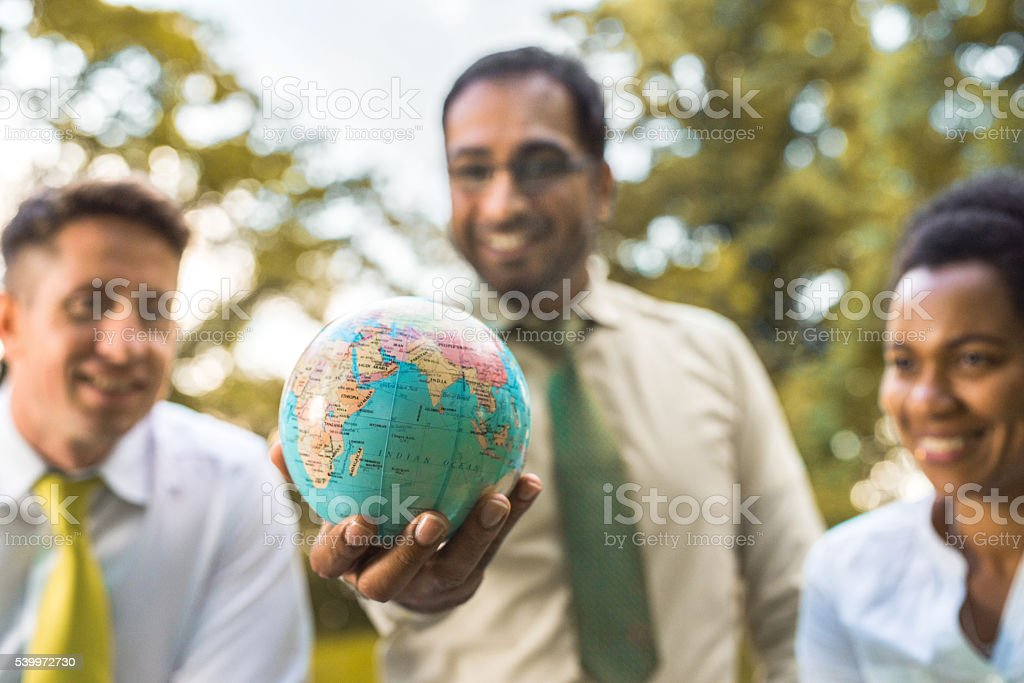 Our planet should be priority! stock photo