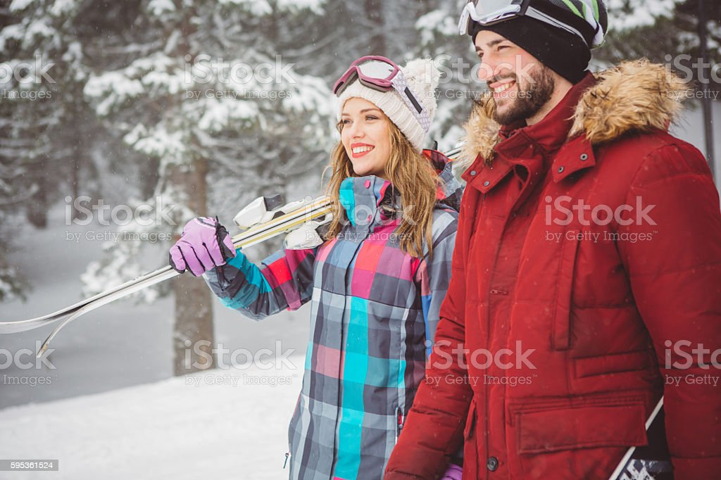 Our relationship is adventure stock photo