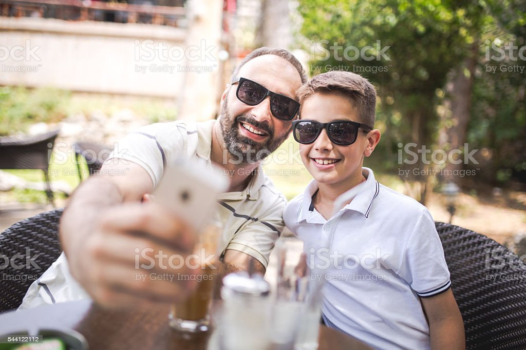 Our selfie stock photo