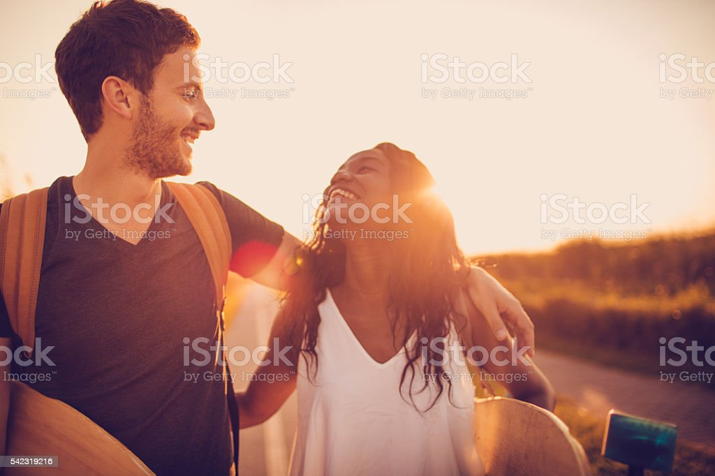 Our summer activities stock photo