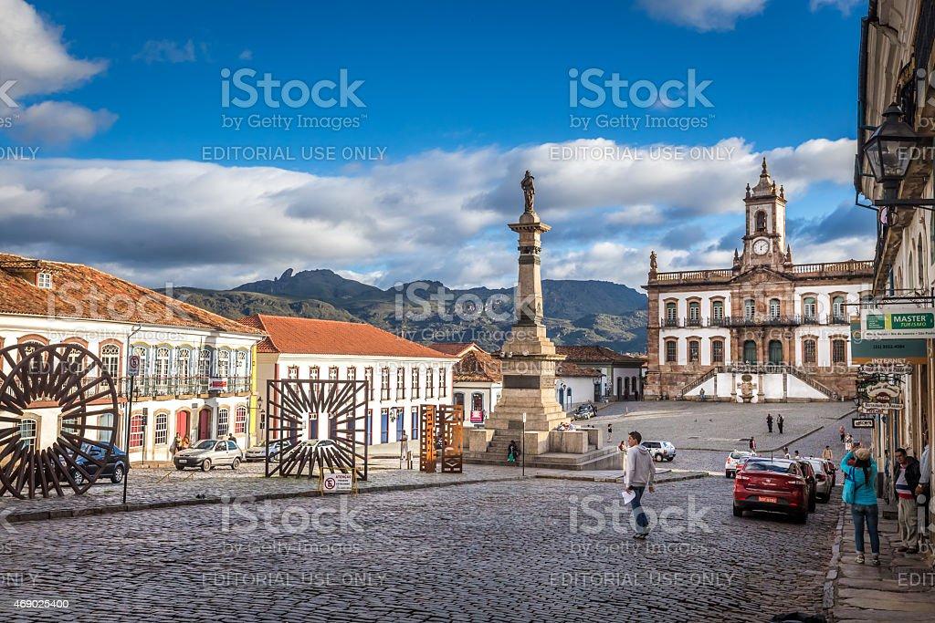 Ouro Preto, Brazil stock photo