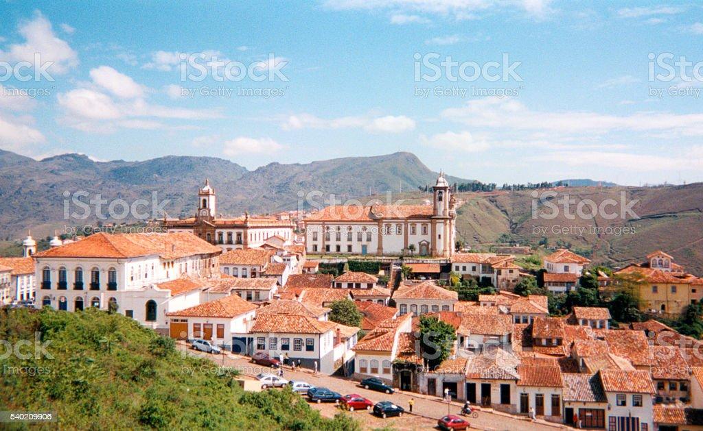 Ouro Preto, Brazil: UNESCO world heritage site stock photo