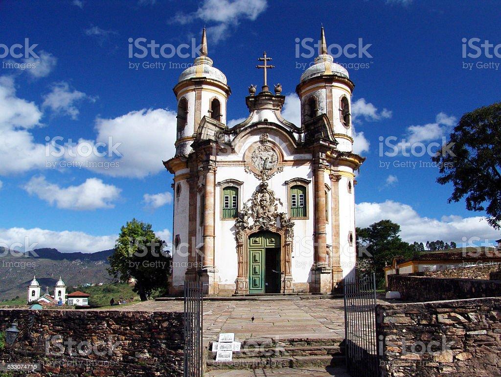 Ouro Preto, Minas Gerais, BR stock photo