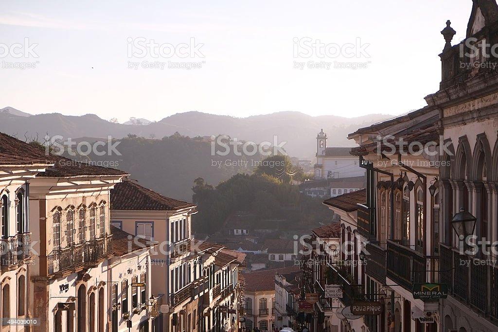 Ouro Preto stock photo
