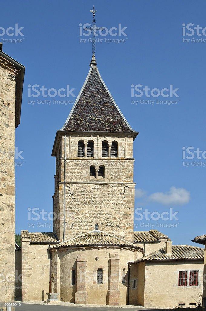Ouroux (Beaujolais) stock photo