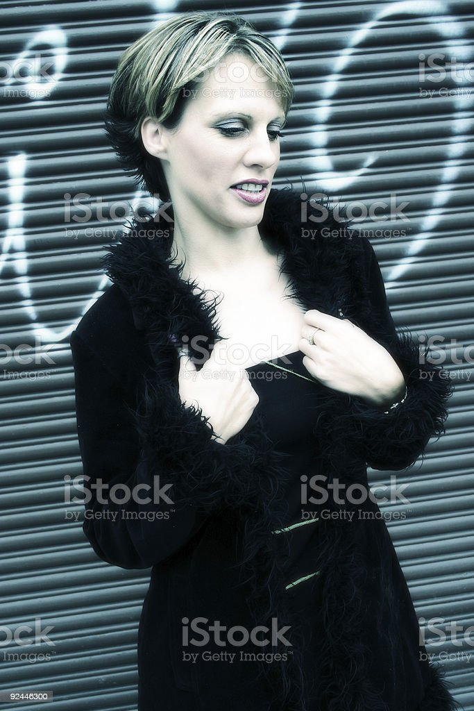 Out and about royalty-free stock photo
