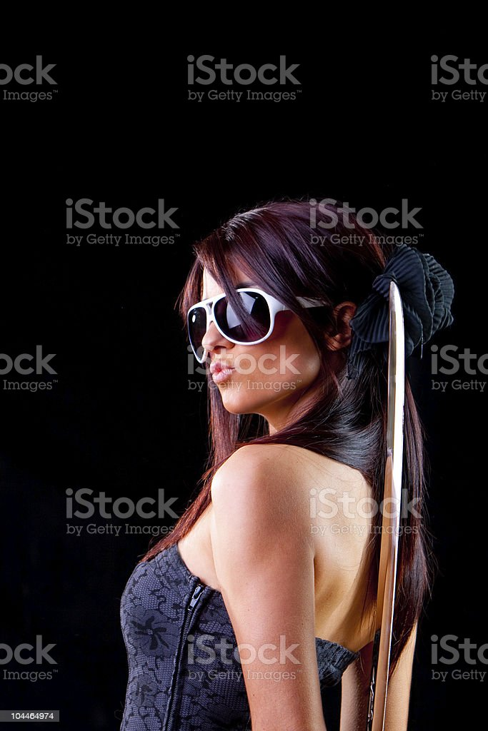 Out for the kill royalty-free stock photo