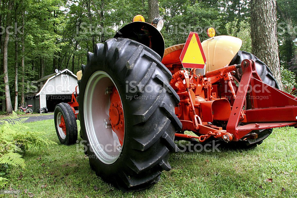 Out of Barn royalty-free stock photo