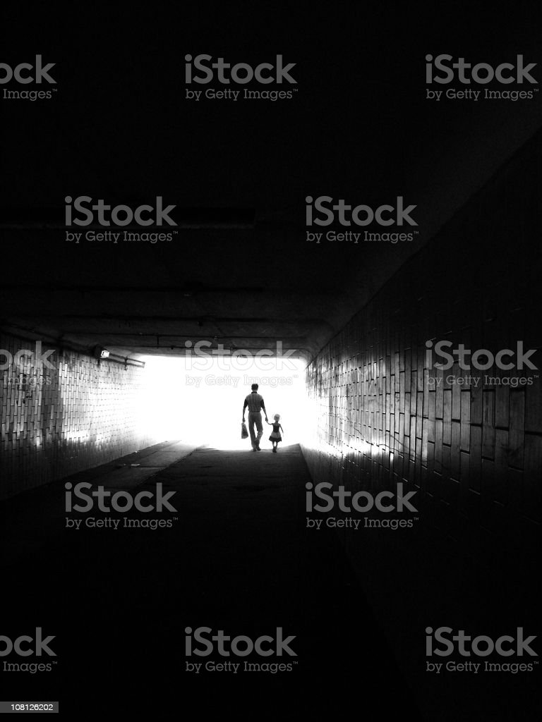out of darkness royalty-free stock photo
