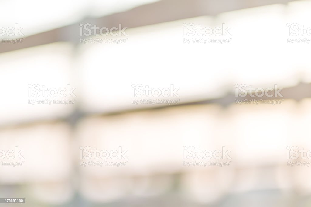 Out of focus background - building stock photo
