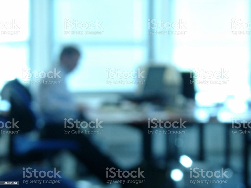 Out of focus office 2 stock photo