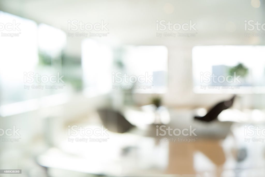 Out of focus Office Background stock photo