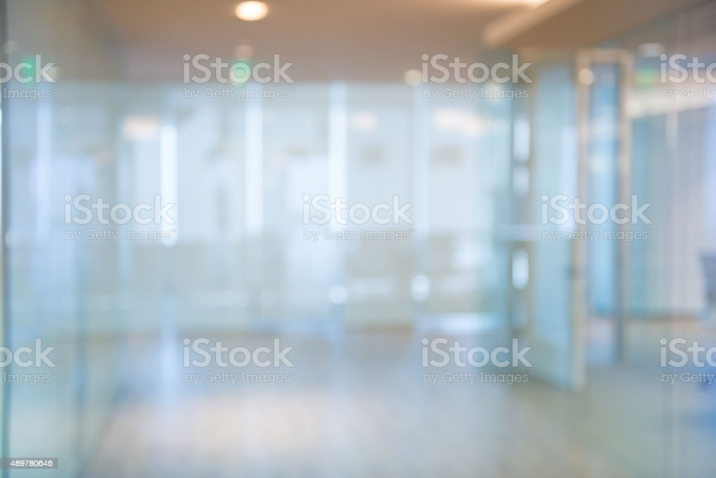 Out of focus Office Corridor Background stock photo