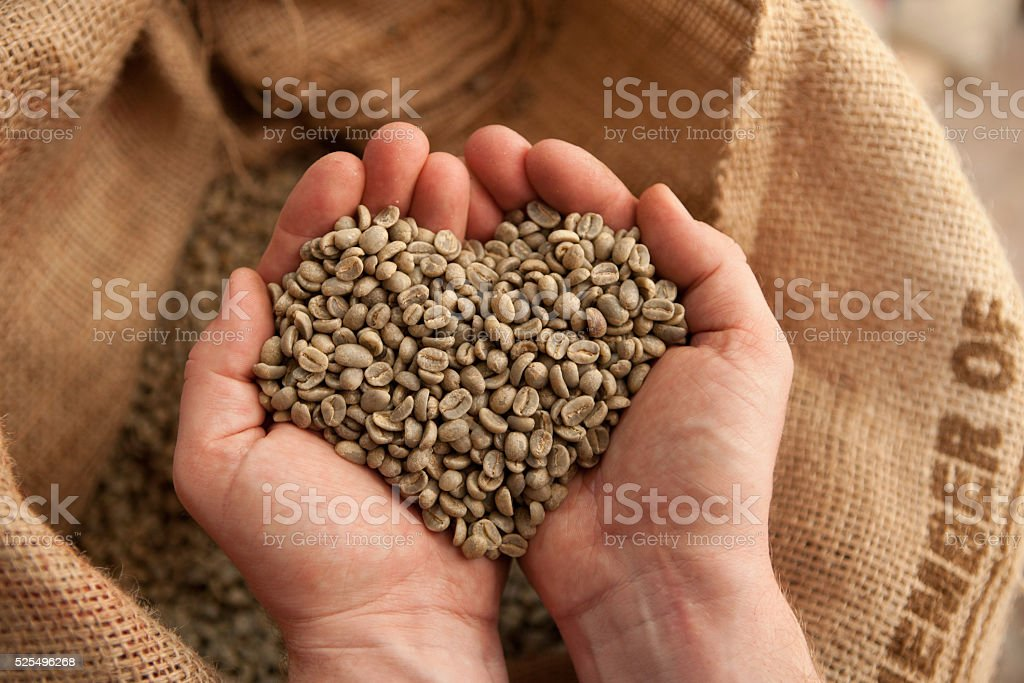 out of love for coffee stock photo