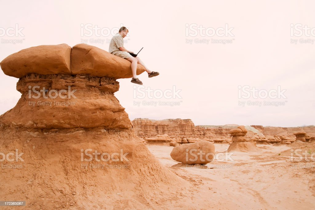 Out Of Office Reply royalty-free stock photo
