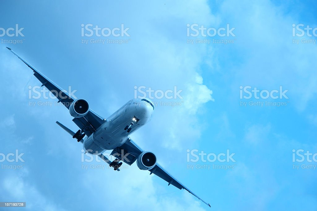Out of the Clouds royalty-free stock photo