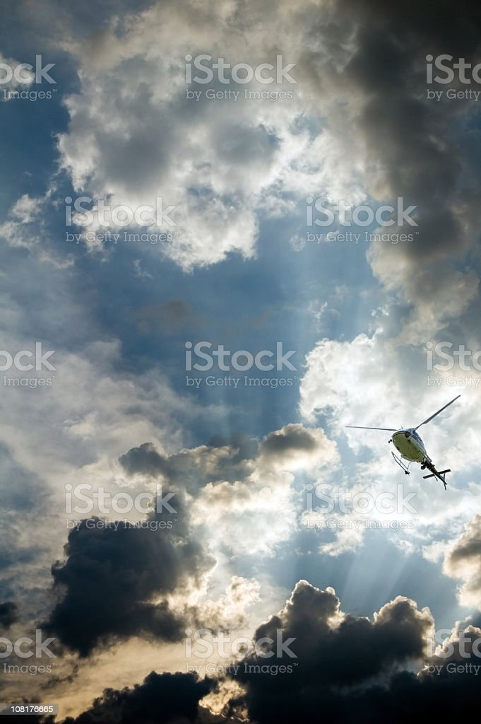 Out of the Storm royalty-free stock photo