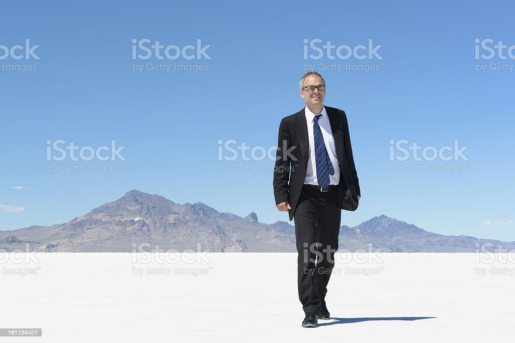 Out of the Wilderness royalty-free stock photo