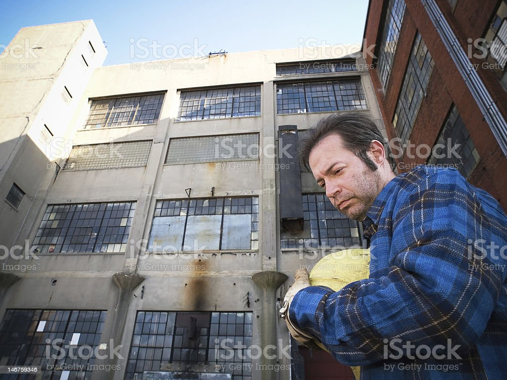 Out of Work stock photo