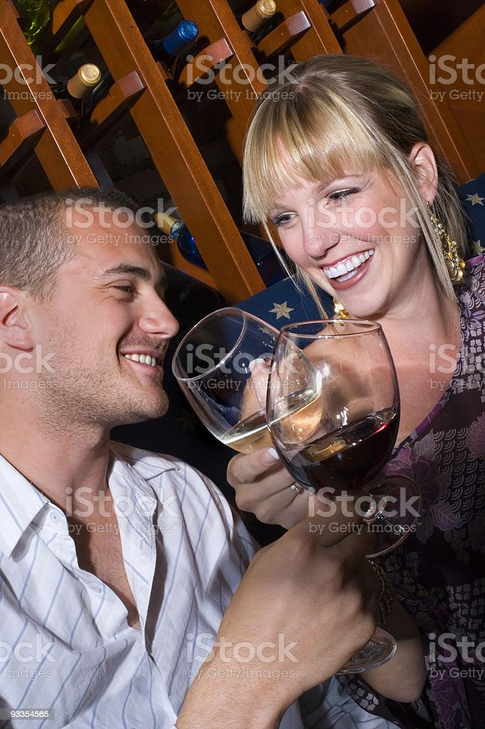 Out on a fun date royalty-free stock photo