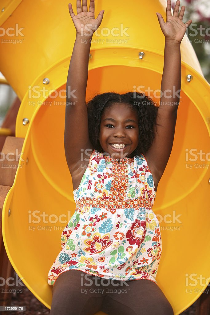 out the slide royalty-free stock photo