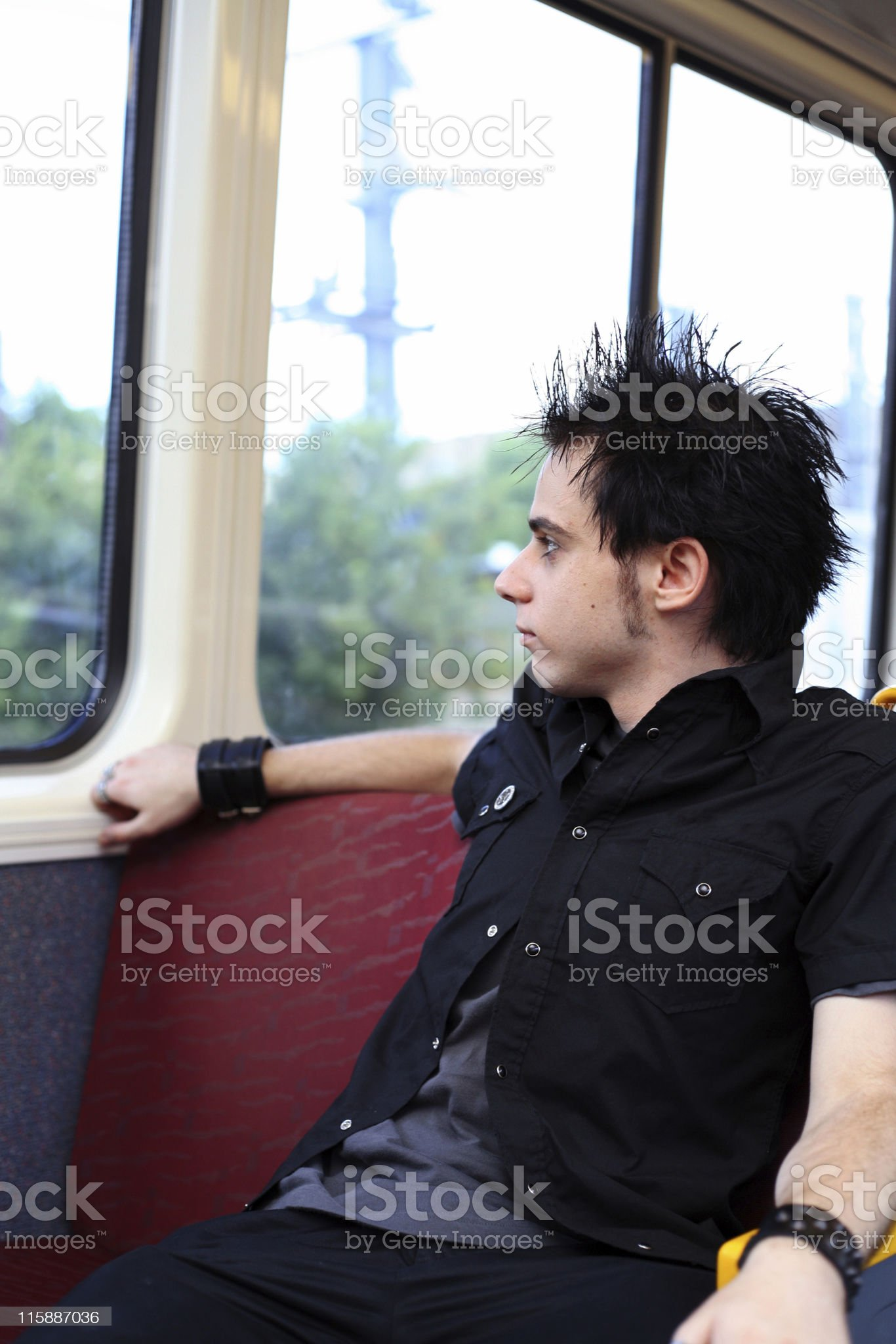 Out The Window royalty-free stock photo
