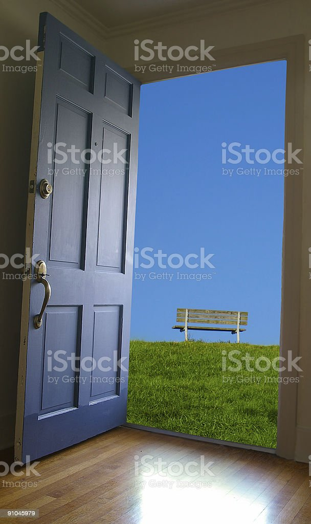 Out there royalty-free stock photo