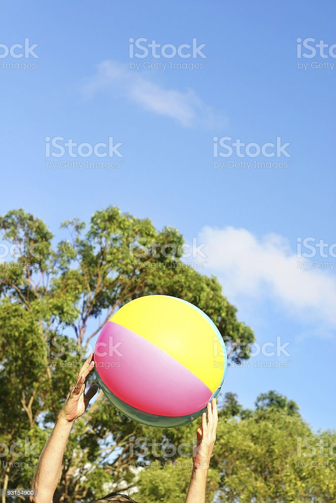 Out to play royalty-free stock photo