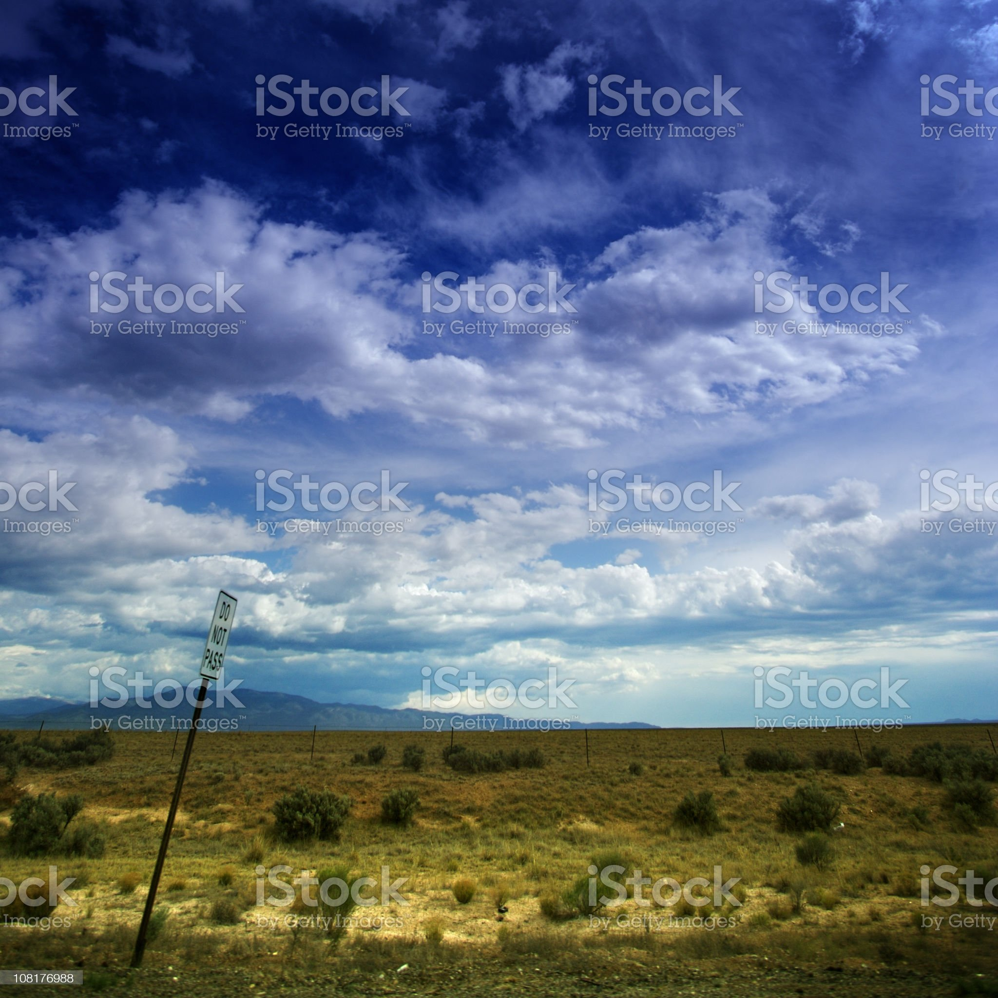 out west royalty-free stock photo