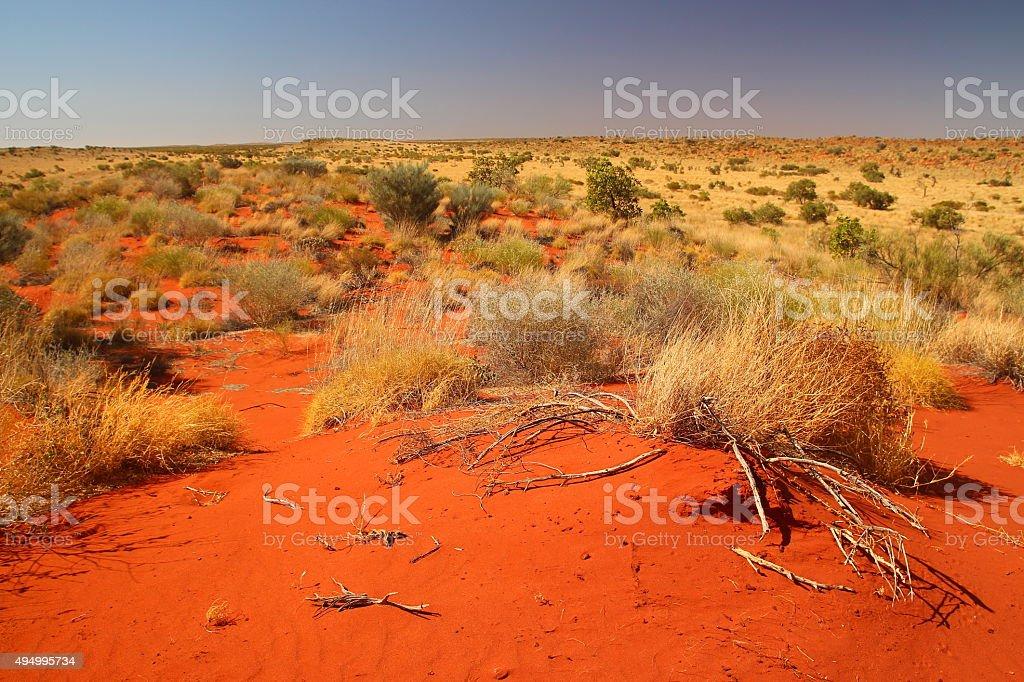 Outback Australia stock photo
