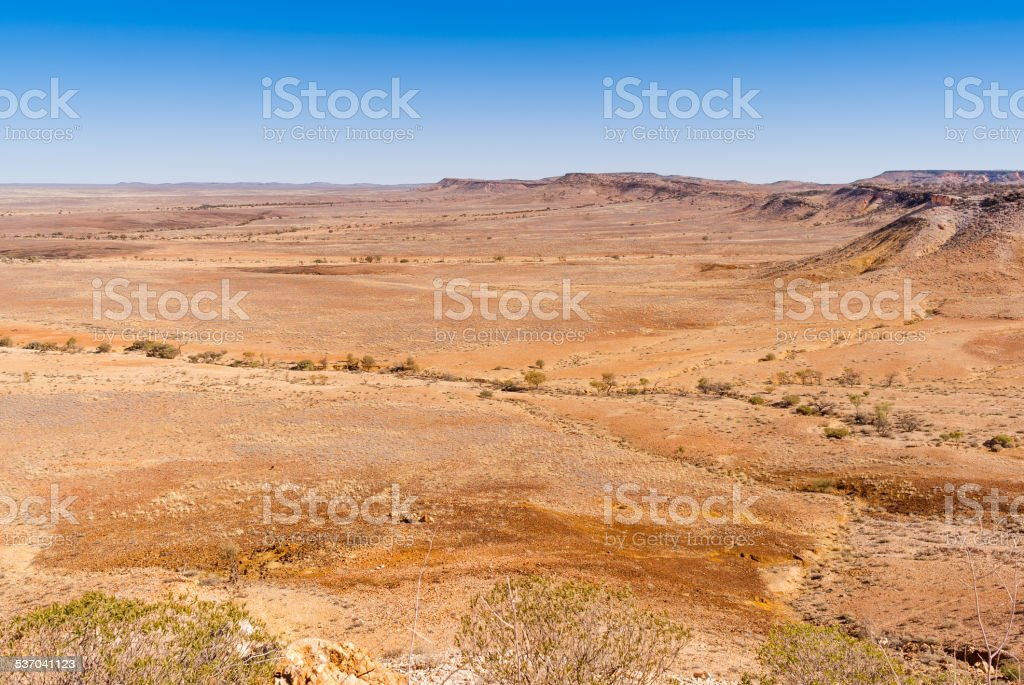Outback New South Wales,Australia. stock photo