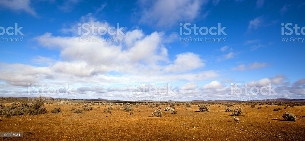 Outback Panorama stock photo