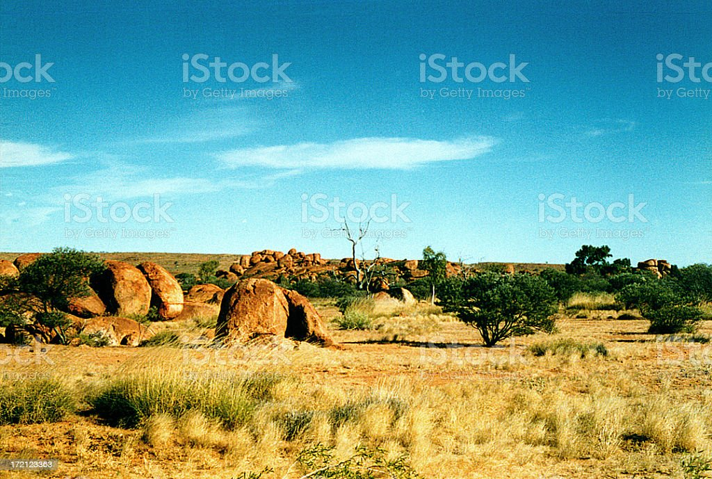 Outback stock photo