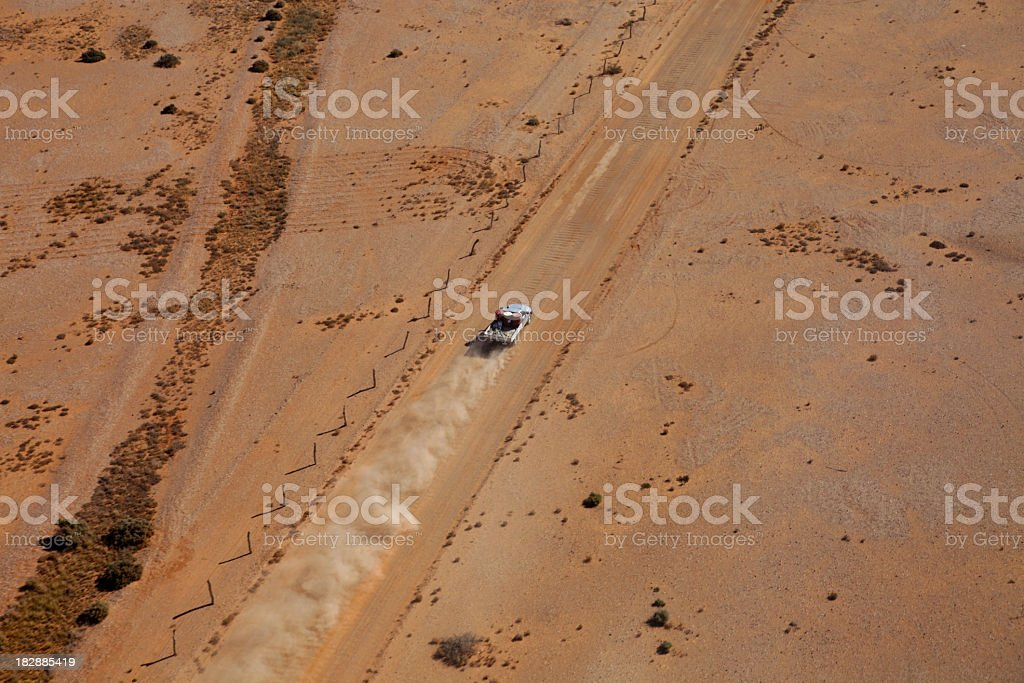 Outback road royalty-free stock photo