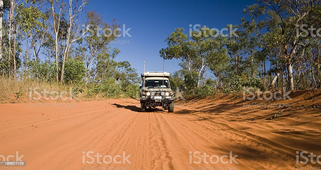 Outback Track royalty-free stock photo