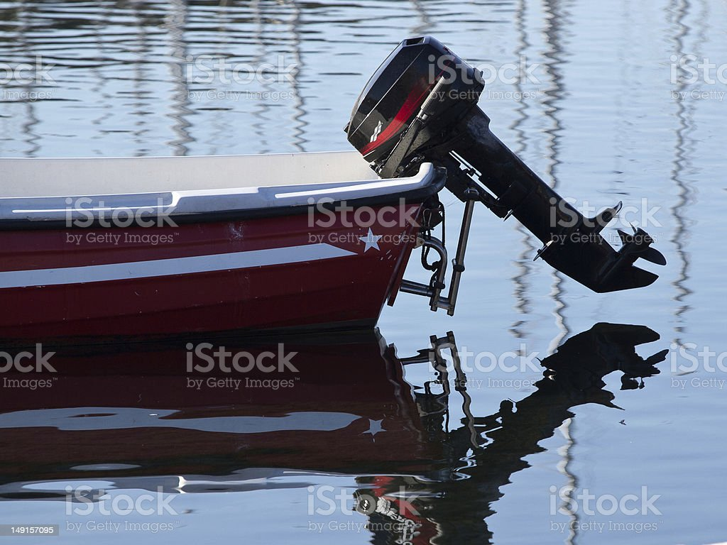 outboard stock photo