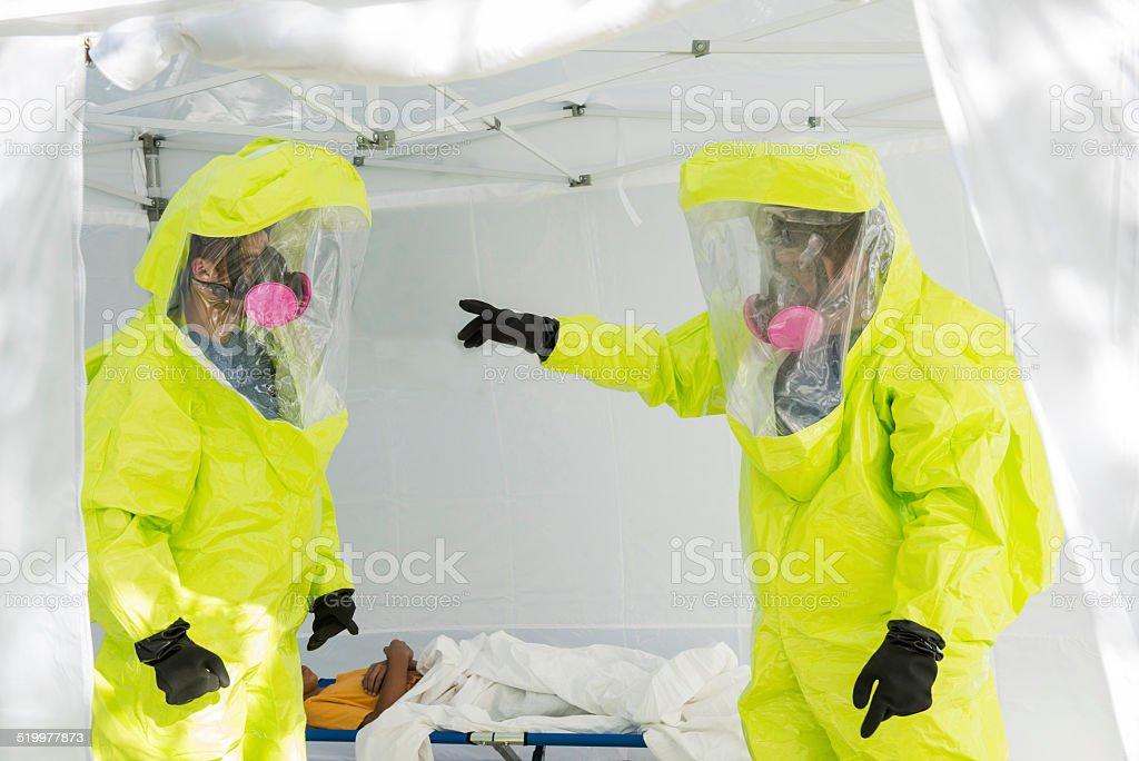Outbreak stock photo