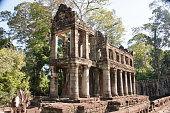 Outbuilding of the Preah Khan temple, Cambodia