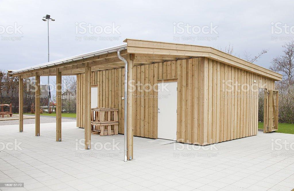 Outbuilding stock photo