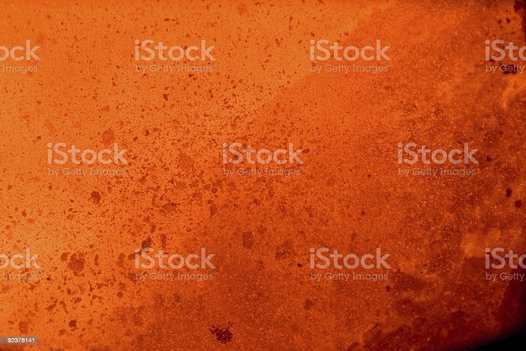 outburst of boiling metal stock photo