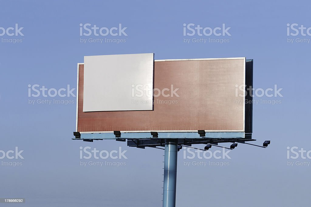 Outdoor - Ad here! royalty-free stock photo
