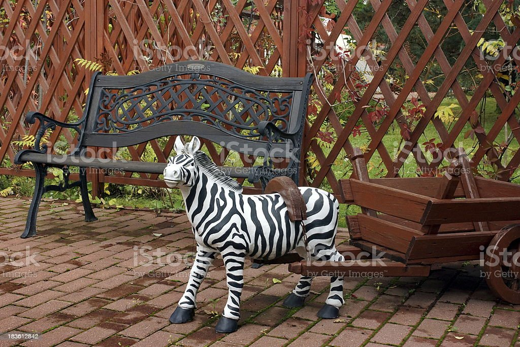 Outdoor and garden Decoration stock photo
