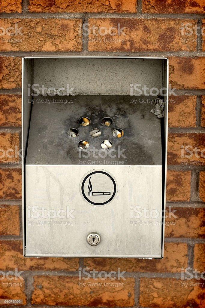 Outdoor Ashtray royalty-free stock photo