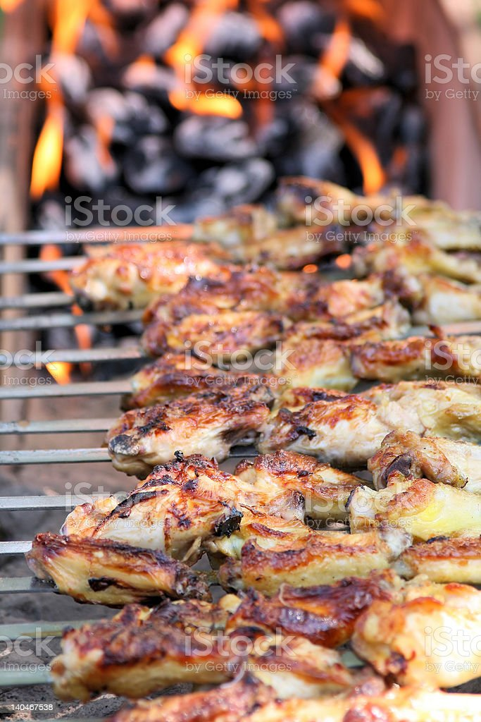Outdoor Barbecue Grill stock photo