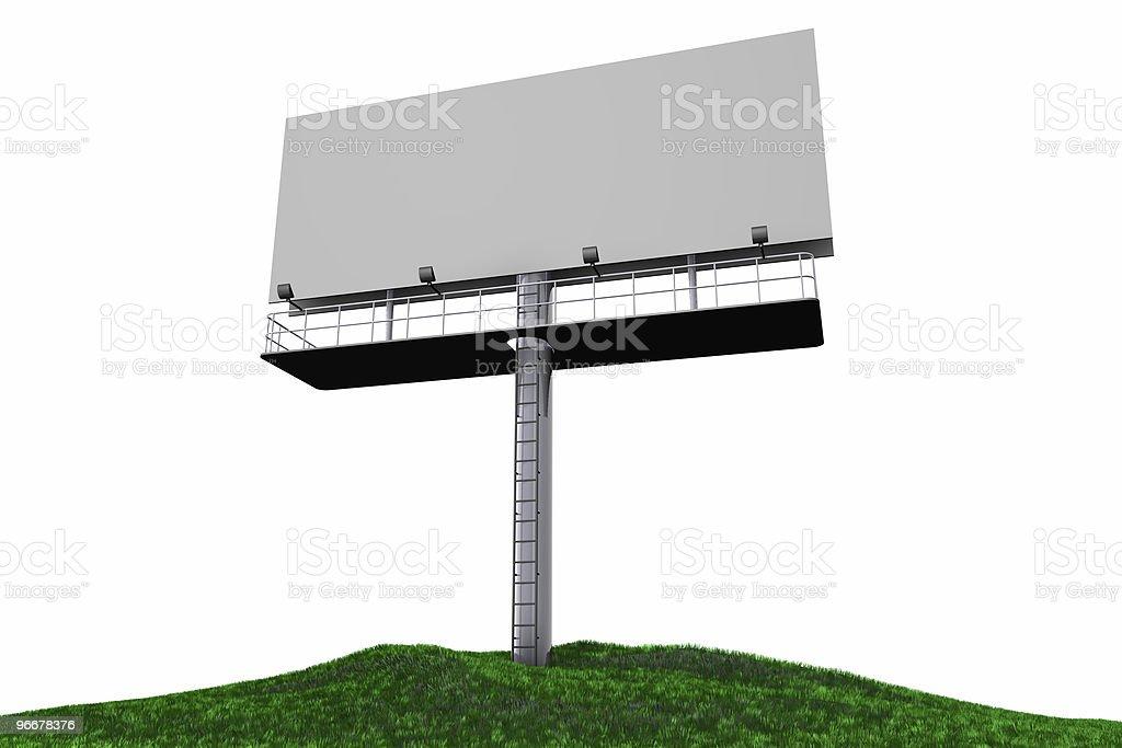 Outdoor Billboard royalty-free stock photo