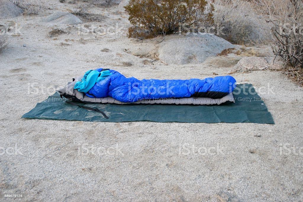 Outdoor camping stock photo
