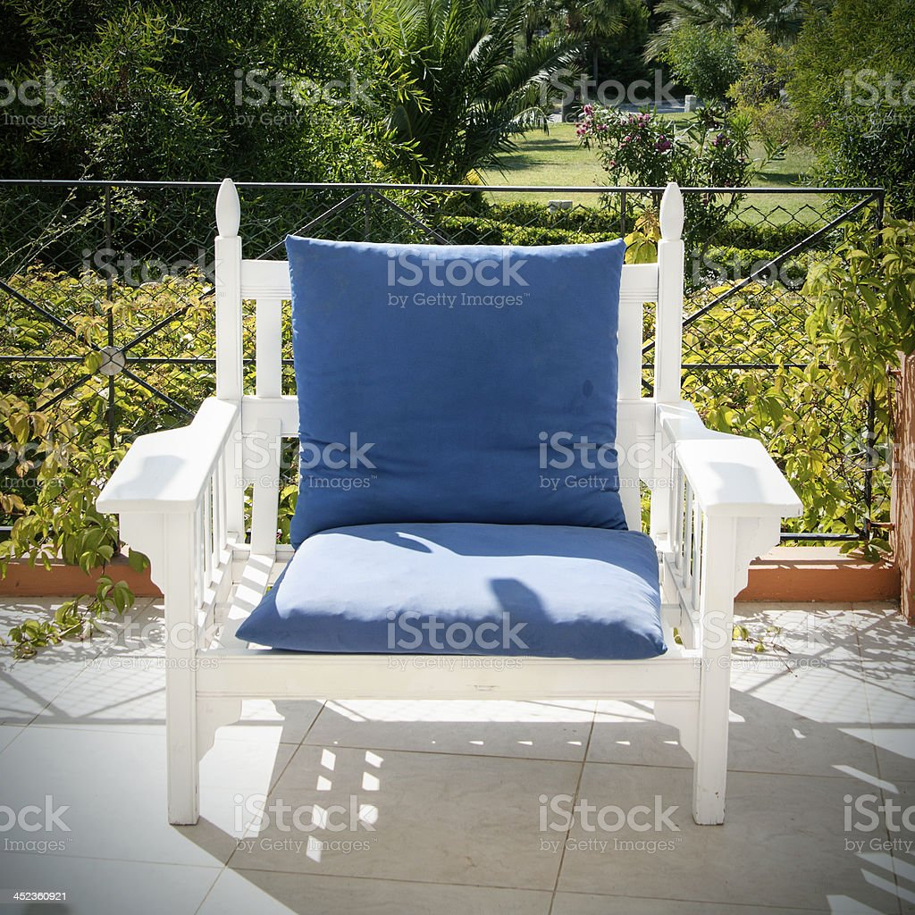 Outdoor Chair royalty-free stock photo